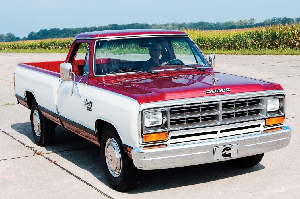 1985 Dodge Ram Cummins D001 Development Truck Pickup Classic Mopar Wallpaper 2048x1360 880200 Wallpaperup