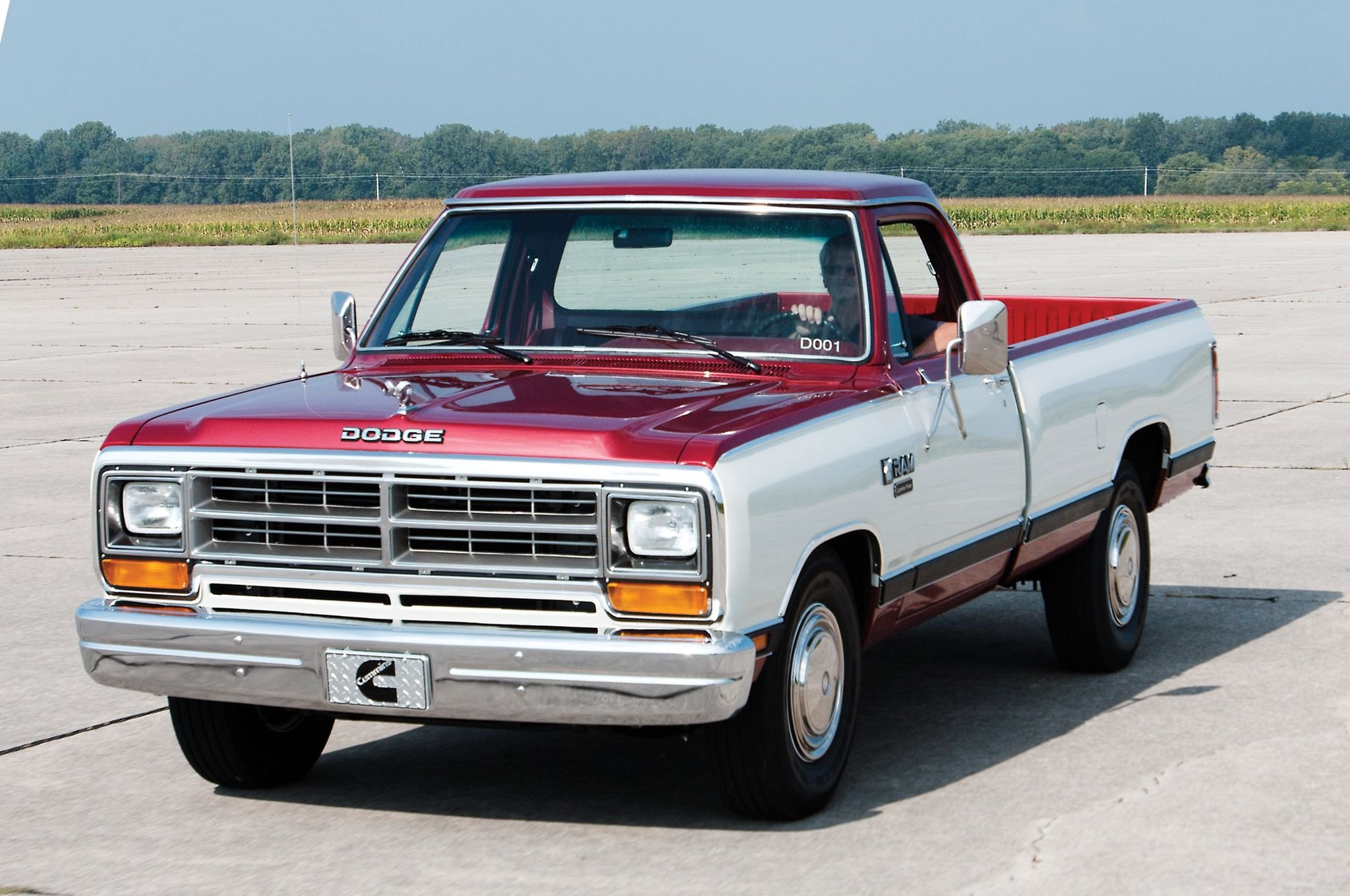 1985 Dodge Ram Cummins D001 Development Truck Pickup