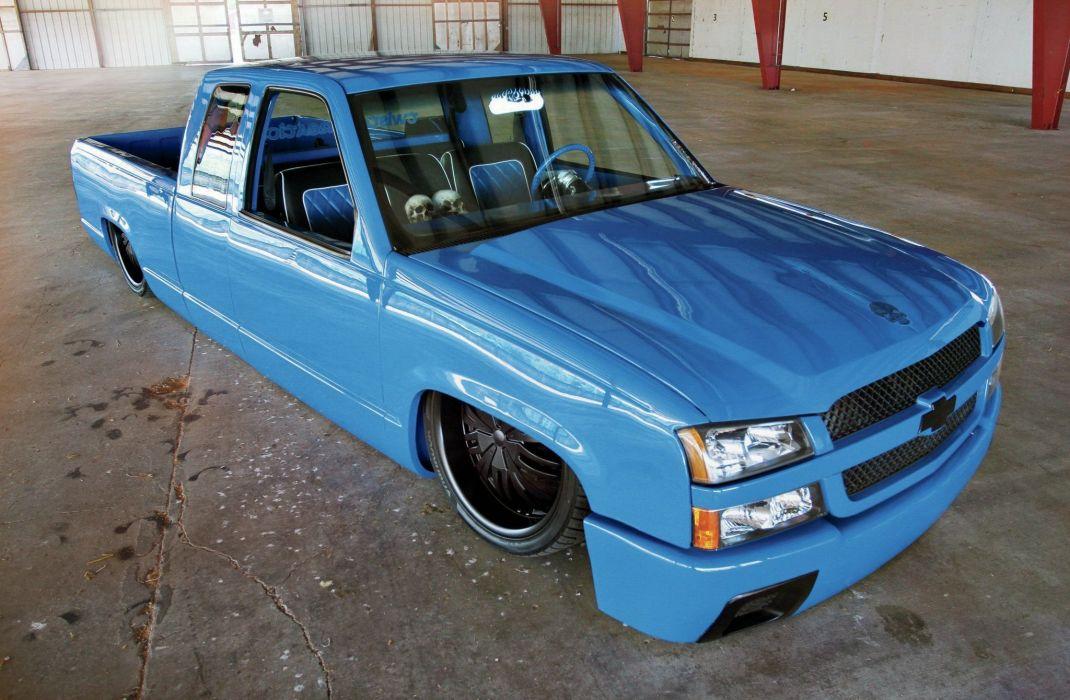 1994 Chevrolet C1500 pickup custom lowrider hot rod rods tuning wallpaper