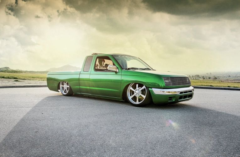 1999 Nissan Frontier pickup lowrider custom tuning wallpaper