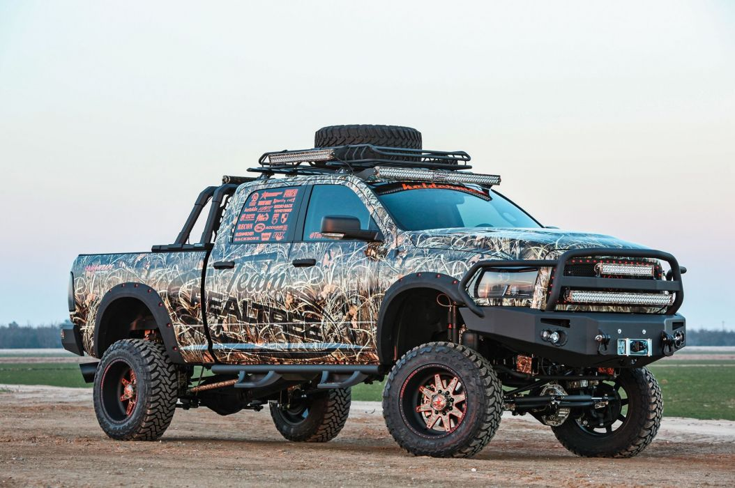 2013 Dodge Ram 2500 4x4 mopar pickup custom tuning wallpaper