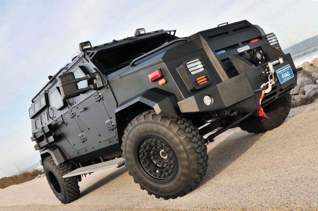 Sentinel Tactical Response Vehicle 4x4 armored emergency military police swat wallpaper