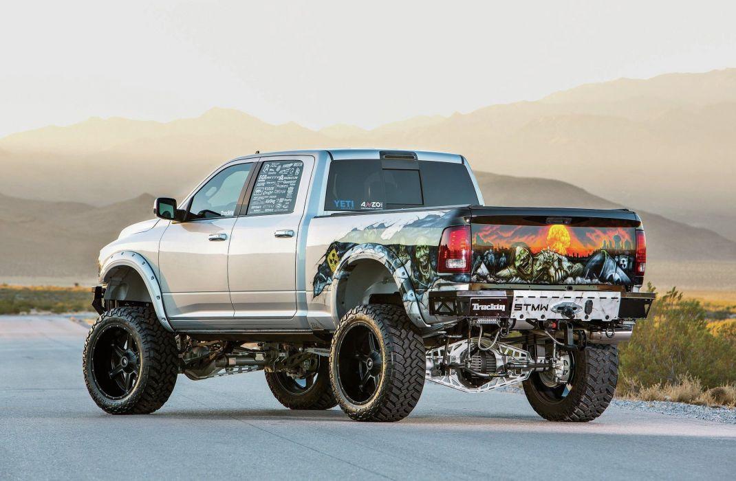 2013 Dodge Ram 2500 4x4 pickup custom tuning mopar wallpaper