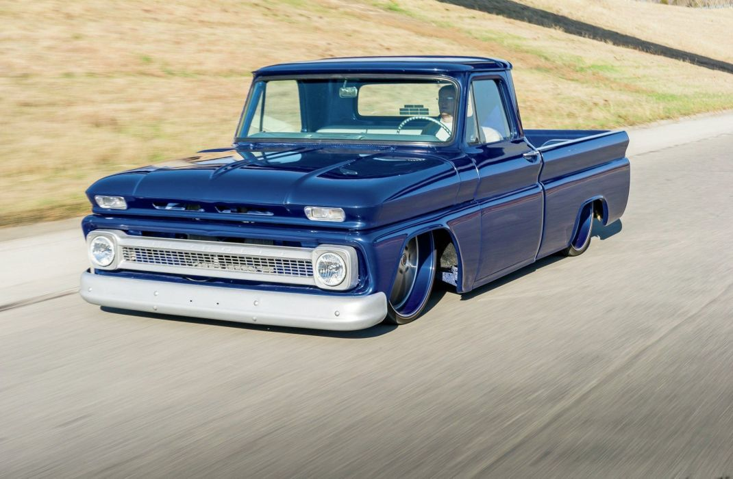 1964 Chevrolet C10 pickup custom tuning lowrider hot rod rods wallpaper