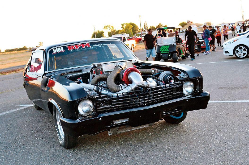 Duramax 1973 Chevrolet Nova muscle classic hot rod rods wallpaper