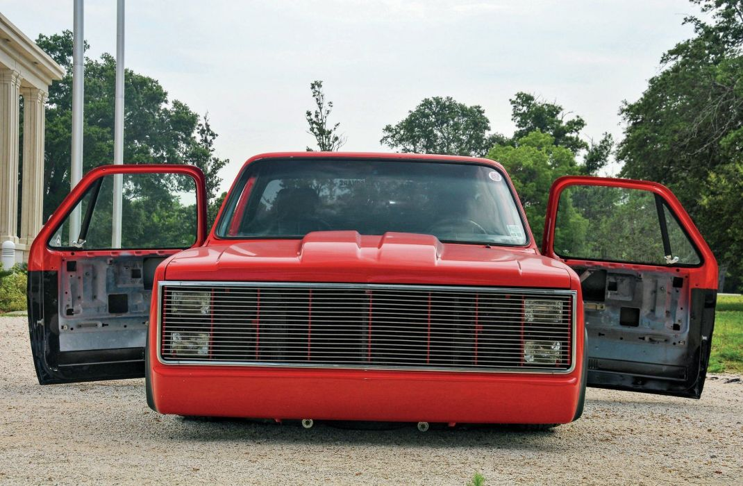 1984 Chevrolet C10 pickup lowrider tuning custom wallpaper