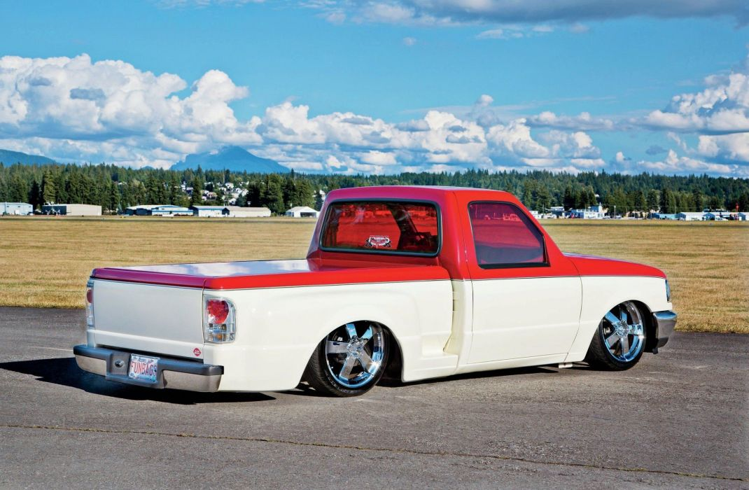 1997 Ford Ranger pickup lowrider custom tuning wallpaper