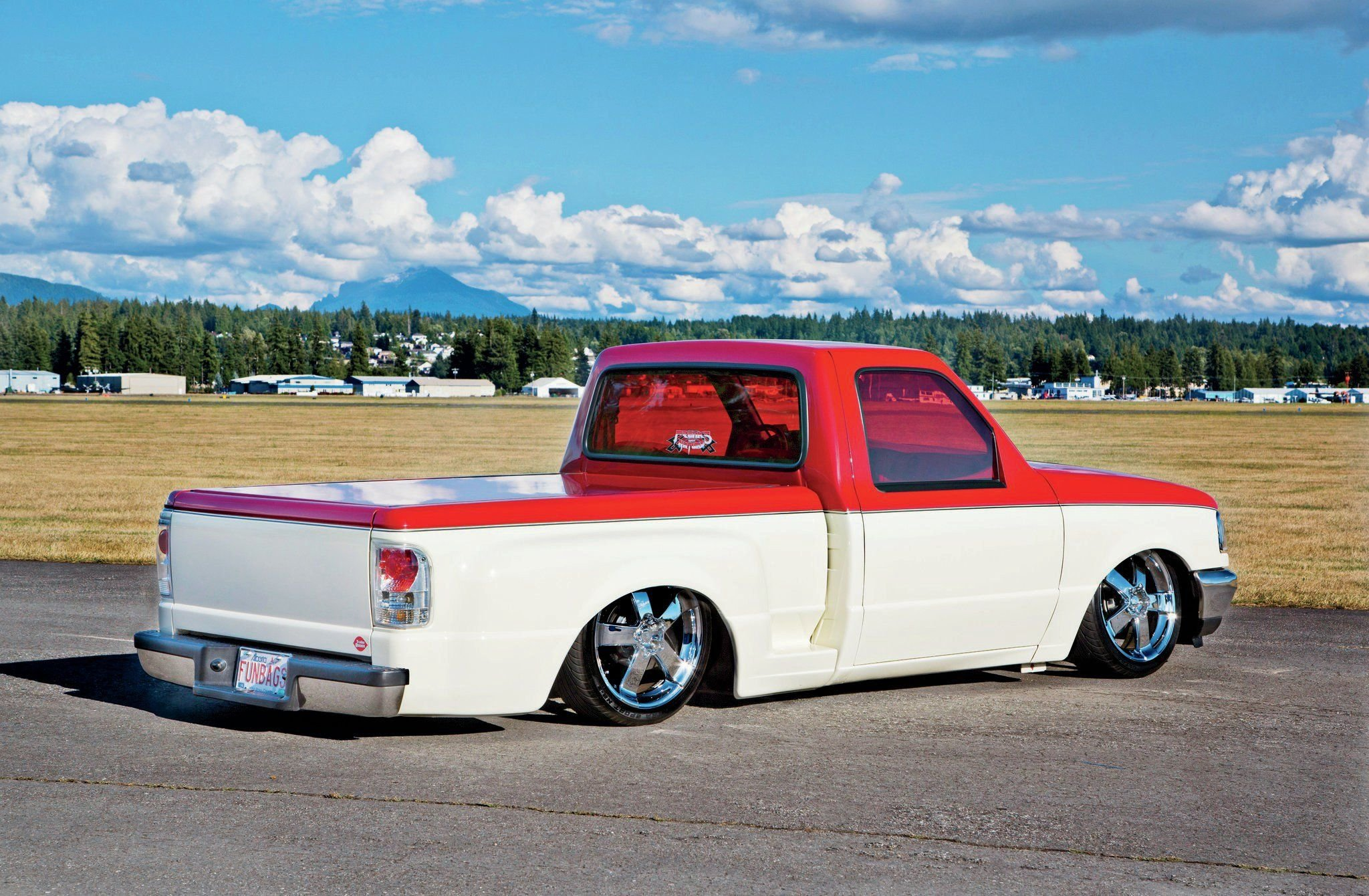 1997 ford ranger pickup lowrider custom tuning wallpaper. Black Bedroom Furniture Sets. Home Design Ideas