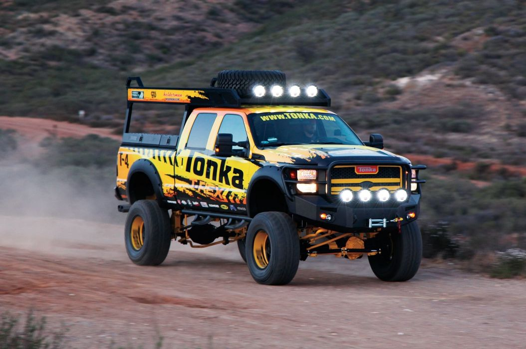 2013 Ford F-250 Tonka pickup 4x4 tuning custom wallpaper