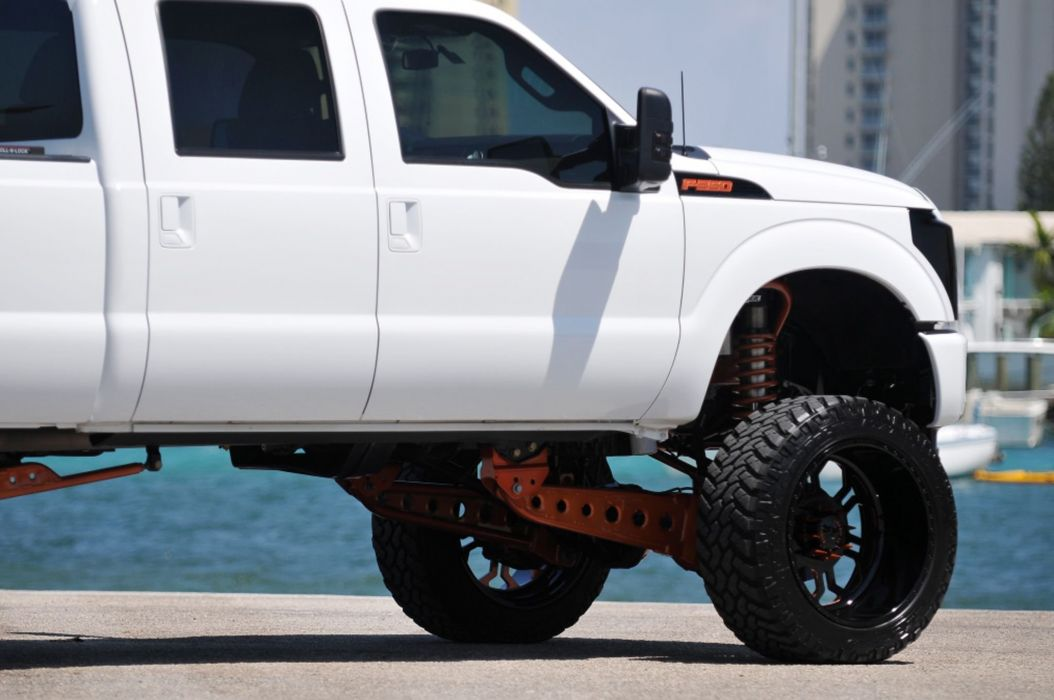 2011 Ford F-350 Super Duty pickup 4x4 custom tuning f350 wallpaper