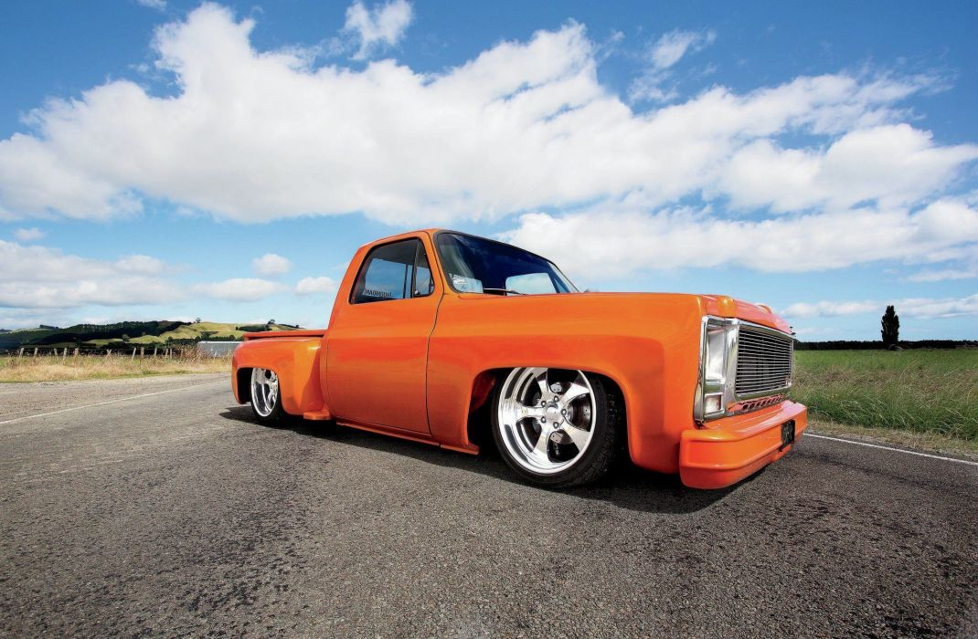 1979 Chevrolet C10 Stepside pickup custom lowrider tuning hot rod rods wallpaper
