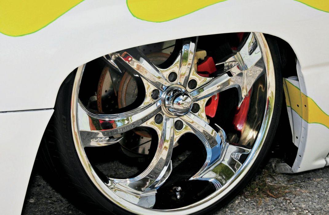 2004 Chevrolet Silverado pickup custom tuning lowrider hot rod rods wallpaper
