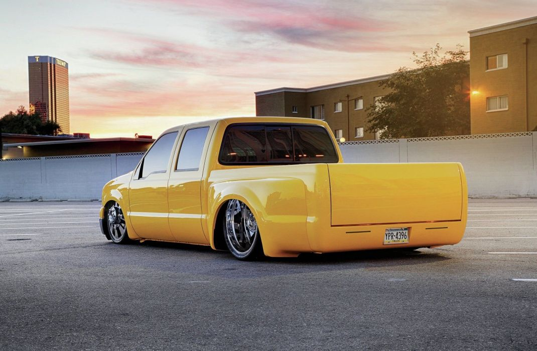 2005 Ford F-350 Dualie pickup custom tuning lowrider hot rod rods f350 wallpaper
