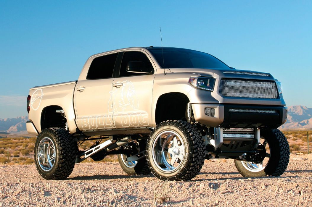 2014 Toyota Tundra pickup custom tuning 4x4 wallpaper