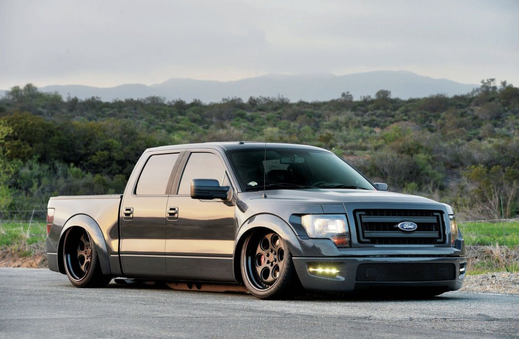 2014 Ford F-150 EcoBoost pickup tuning custom hot rod rods f150 wallpaper