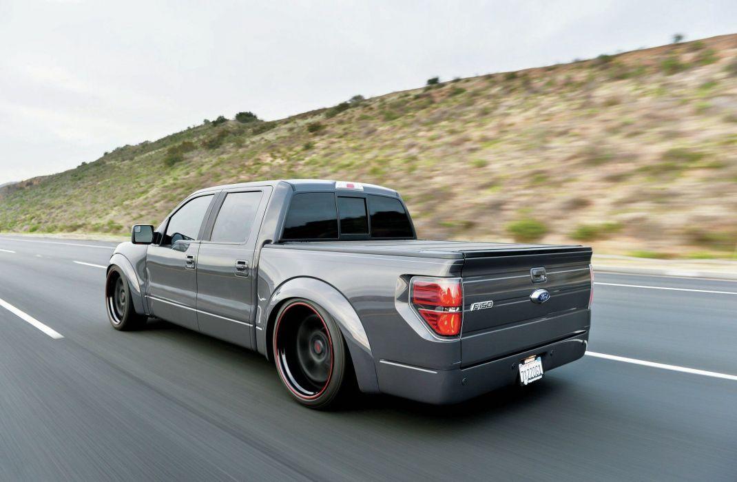2014 Ford F-150 EcoBoost pickup tuning custom hot rod rods f150 wallpaper