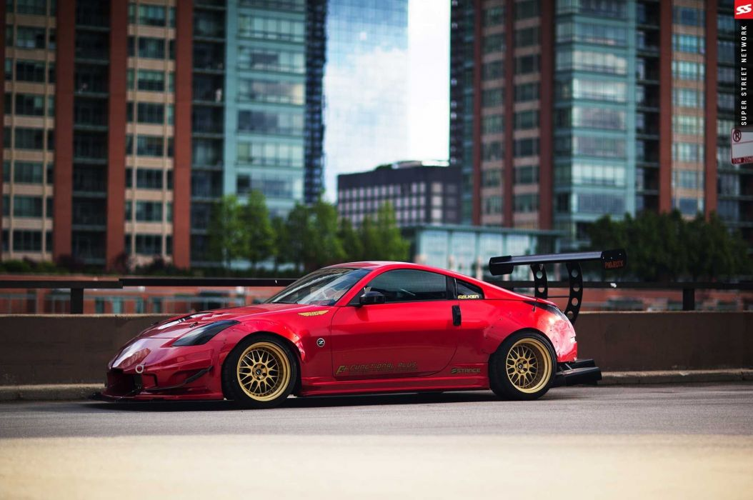 2003 Nissan 350Z coupe cars modified wallpaper