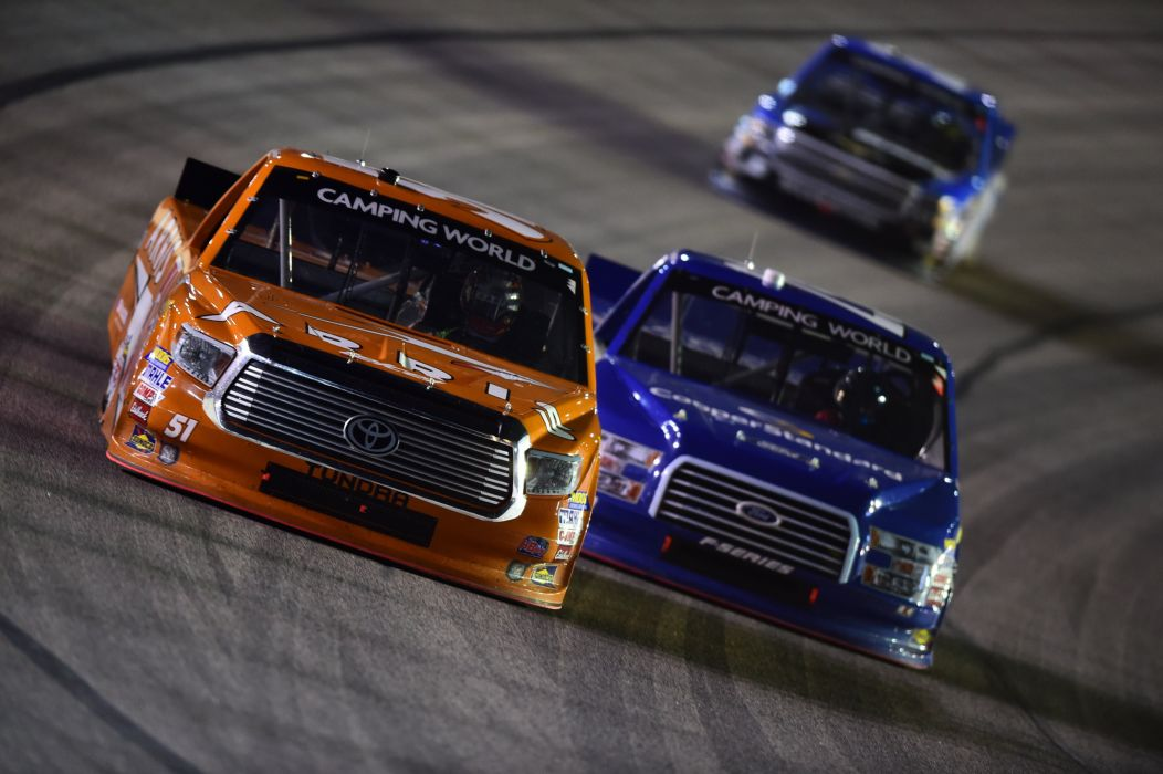 NASCAR race racing pickup truck wallpaper