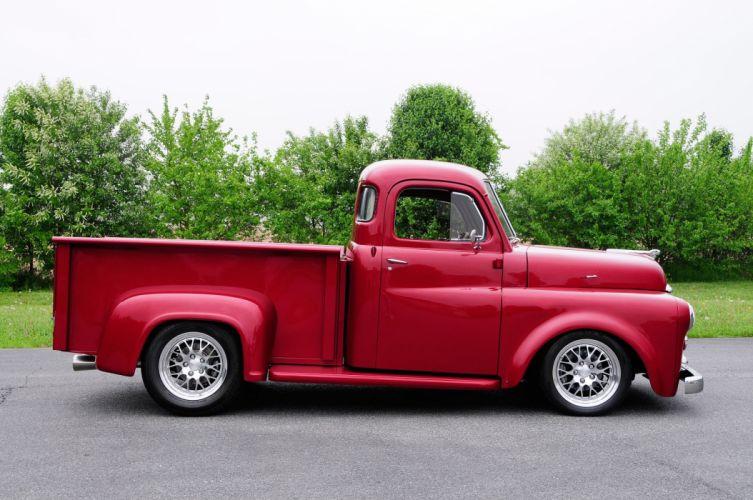 1948 Dodge Hauler pickup custom hot rod rods retro mopar wallpaper