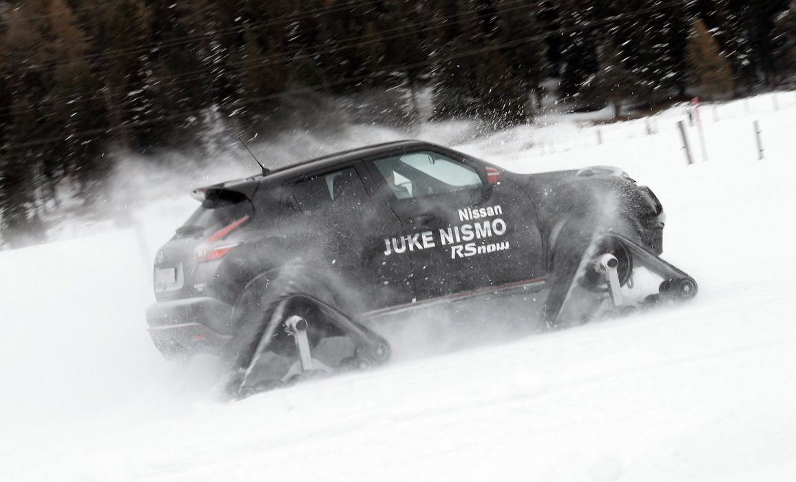 2015 Nissan Juke Nismo RSnow Concept winter snow wallpaper