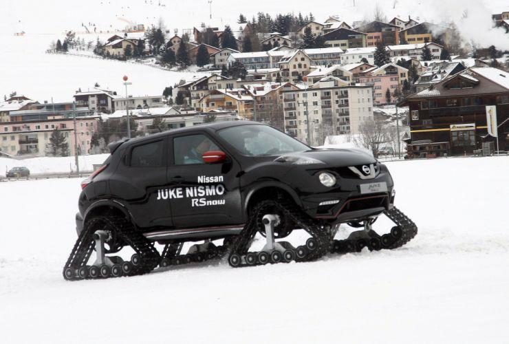 2015 Nissan Juke Nismo RSnow Concept winter snow wallpaper