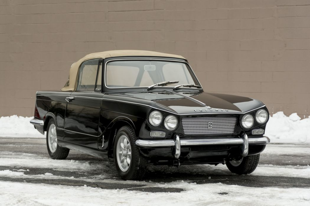 1963 Triumph Vitesse Sports 6 Michelotti classic wallpaper