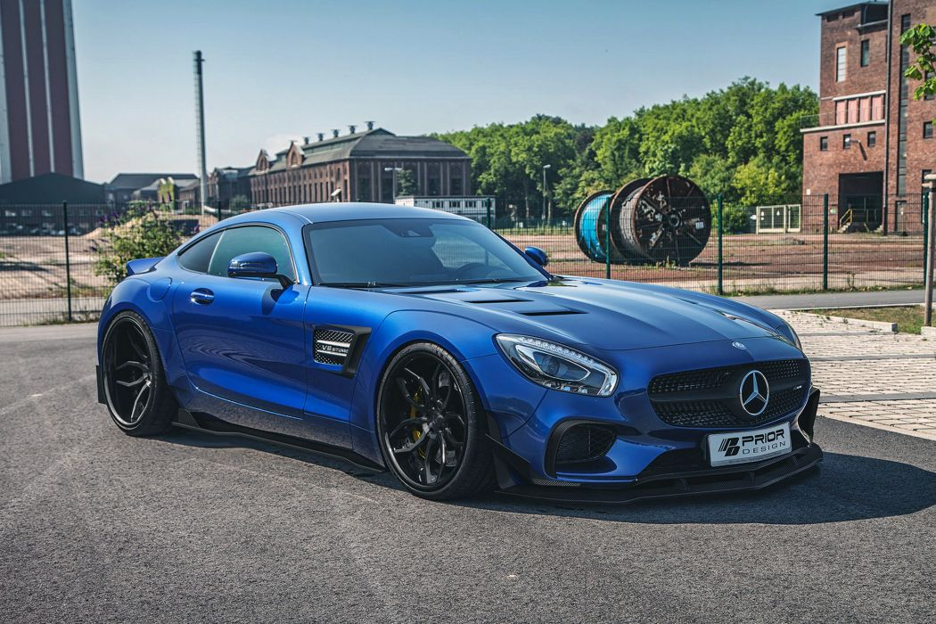 2016 Prior Design Mercedes AMG GTS PD800GT tuning benz wallpaper