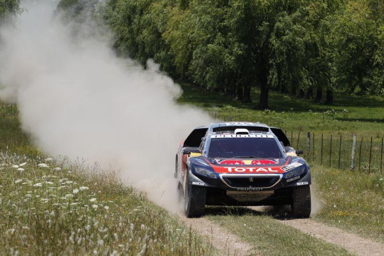 2016 Peugeot 2008 DKR16 dakar rally raid offroad race racing wallpaper