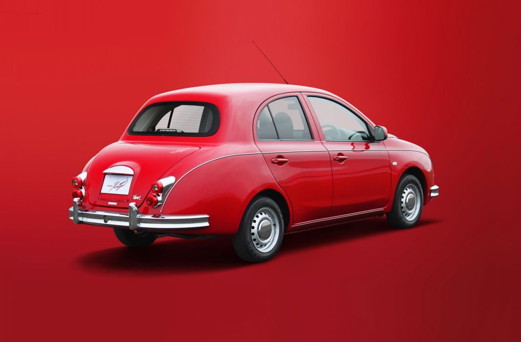 2015 Mitsuoka Viewt Rouge compact wallpaper