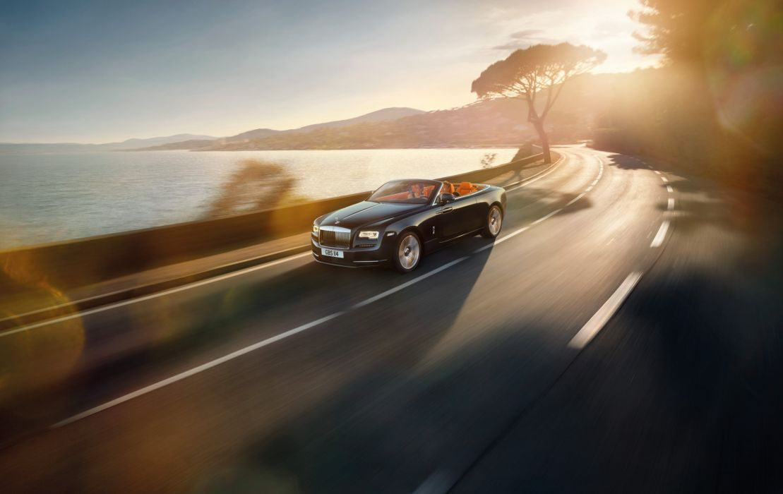 2016 Rolls Royce Dawn luxury wallpaper