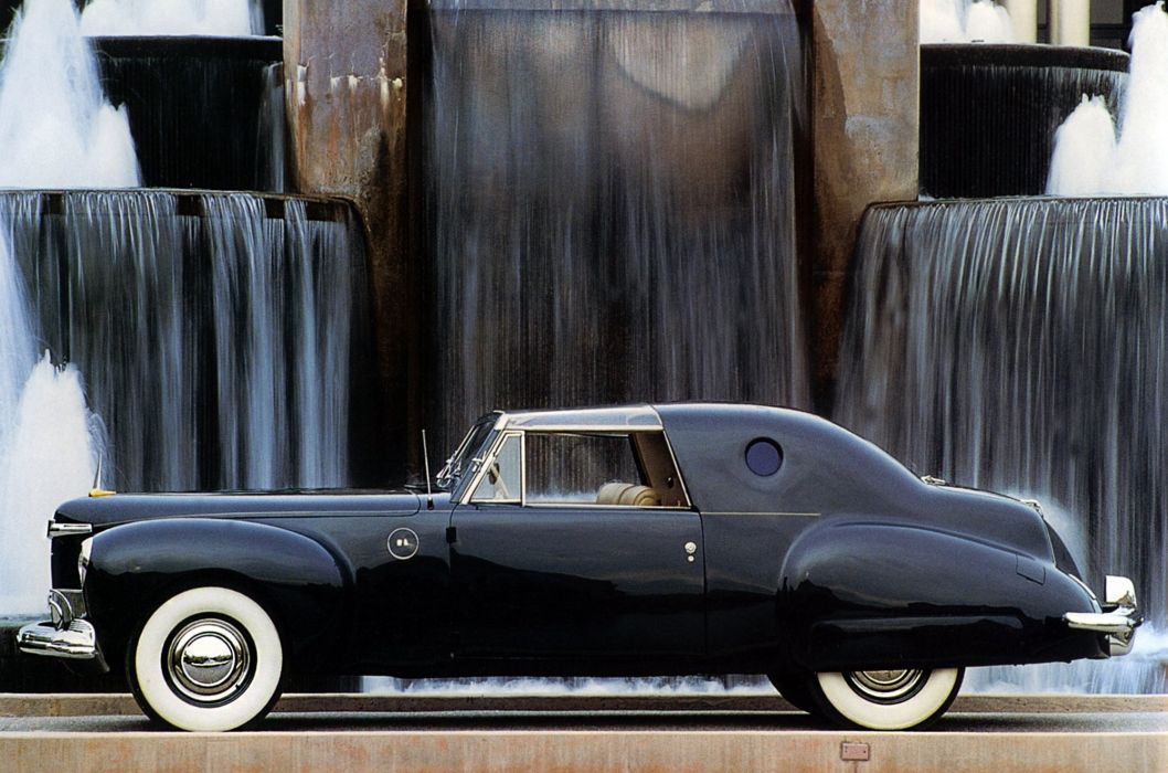 1941 Lincoln Continental Coupe Special Loewy Derham luxury retro wallpaper