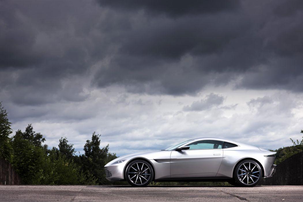 2016 James Bond Aston Martin DB10 Supercar wallpaper