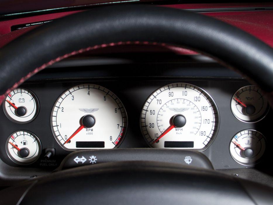 2003 Aston Martin DB7 AR1 Zagato supercar wallpaper