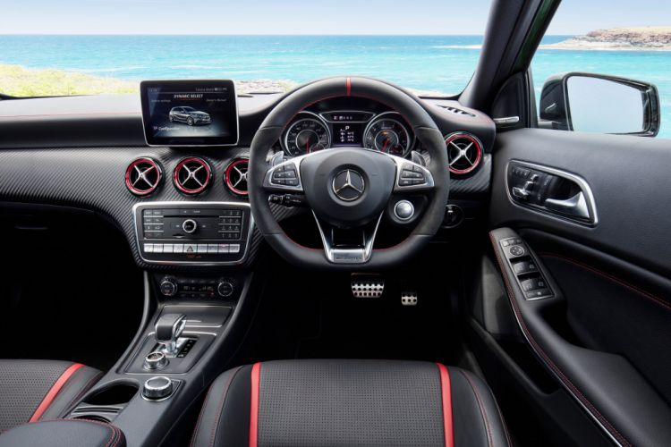 2016 Mercedes AMG A45 4MATIC AU-spec W176 benz wallpaper