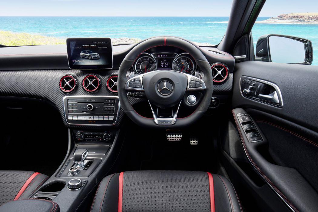2016 Mercedes AMG A45 4MATIC AU-spec W176 benz wallpaper