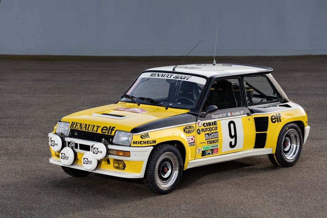 1980-82 Renault R5 Turbo Group-4 wrc rally race racing wallpaper
