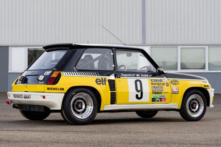 1980-82 Renault R5 Turbo Group-4 wrc rally race racing wallpaper