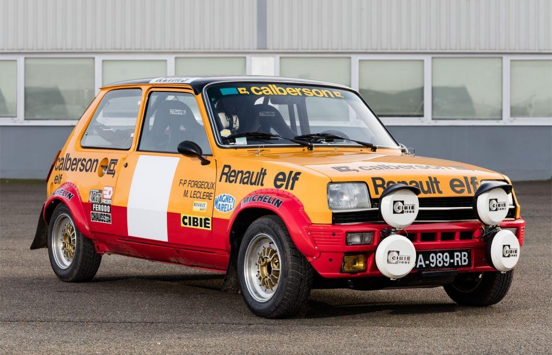 1977-79 Renault 5 Alpine Rally wrc race racing wallpaper