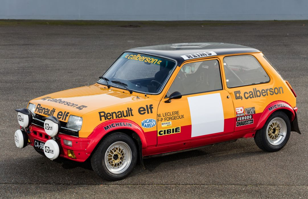 1977-79 Renault 5 Alpine Rally wrc race racing wallpaper