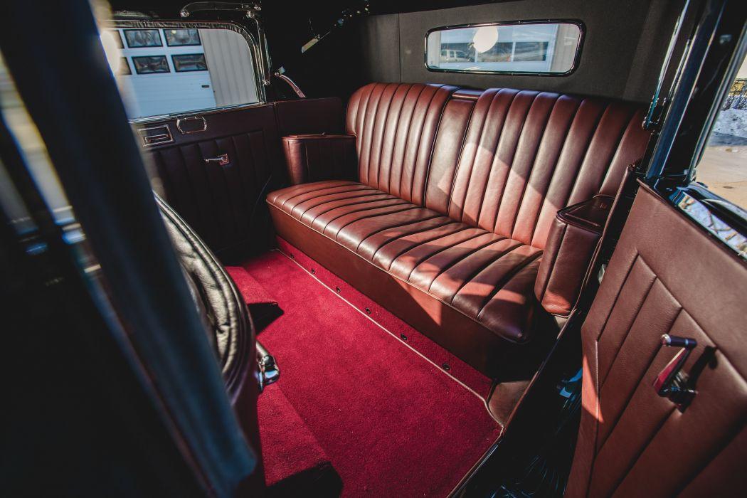 1931 Marmon Sixteen Convertible Sedan LeBaron vintage luxury wallpaper