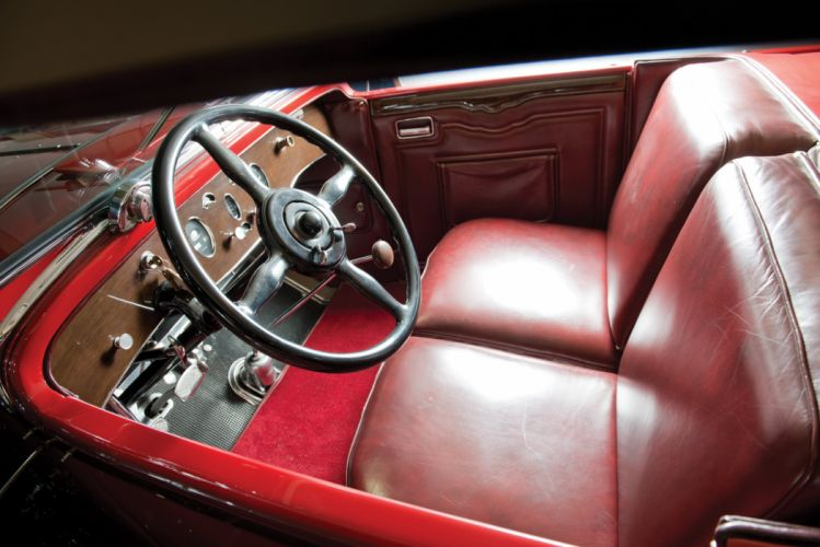 1929 Packard Deluxe Eight Sport Phaeton 645-373 luxury vintage wallpaper