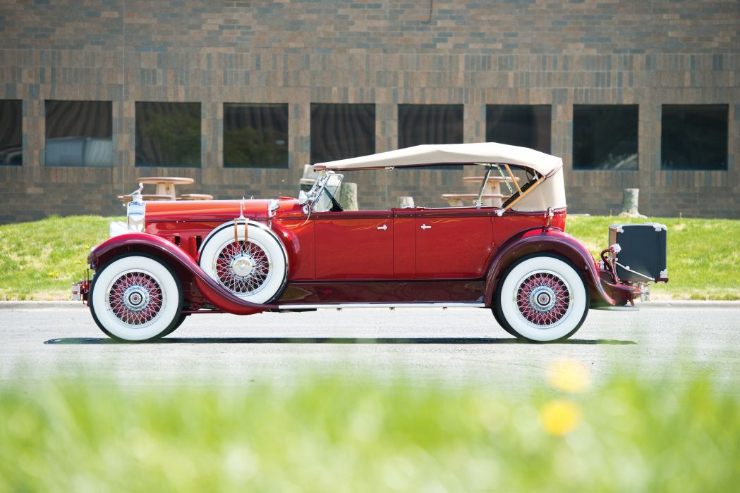 1929 Packard Deluxe Eight Sport Phaeton 645-373 luxury vintage wallpaper