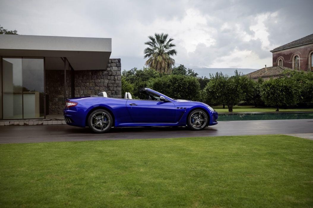 2015 Maserati GranCabrio MC Centennial Pininfarina m-c wallpaper