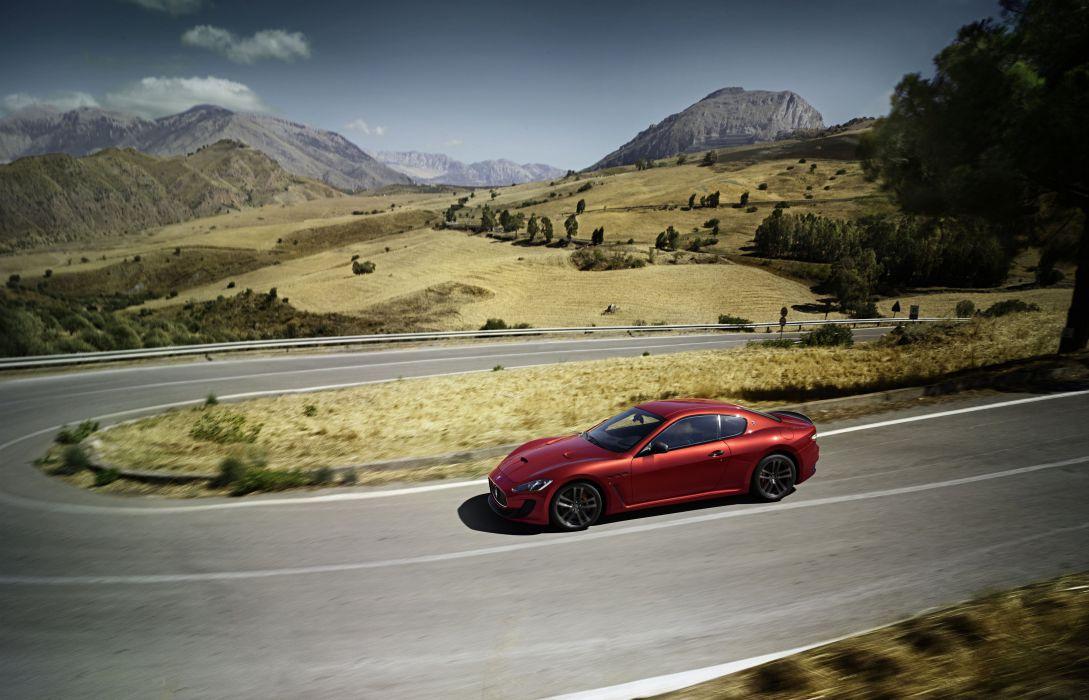 2015 Maserati GranTurismo MC Stradale Centennial Pininfarina m-c supercar wallpaper