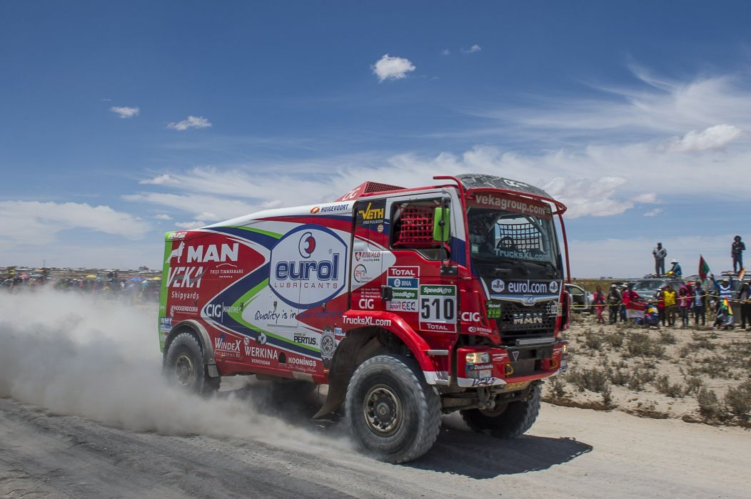 2015 MAN TGS 480 Rally Truck 4x4 offroad dakar semi tractor race racing wallpaper