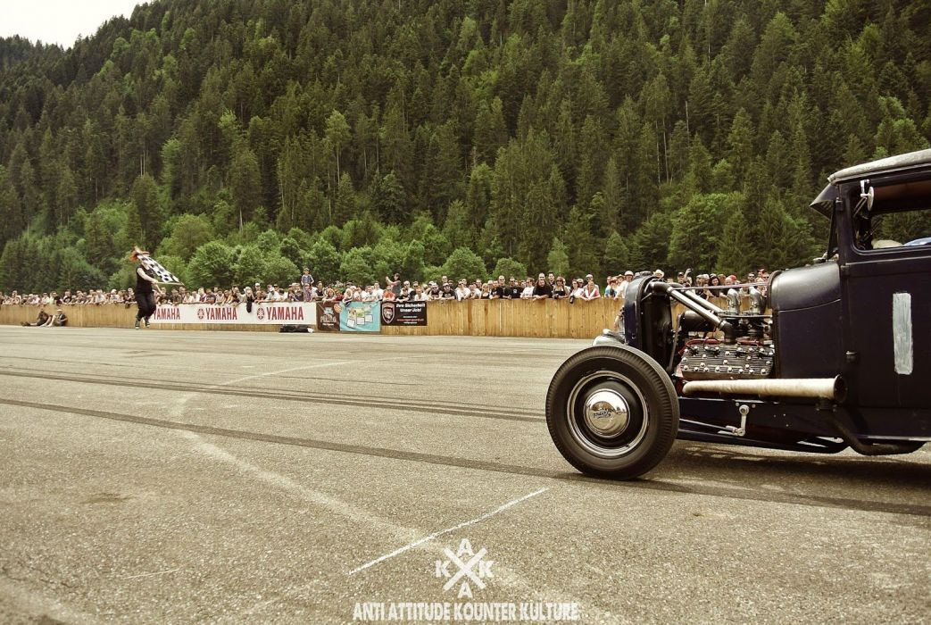 HOT ROD rods custom retro wallpaper