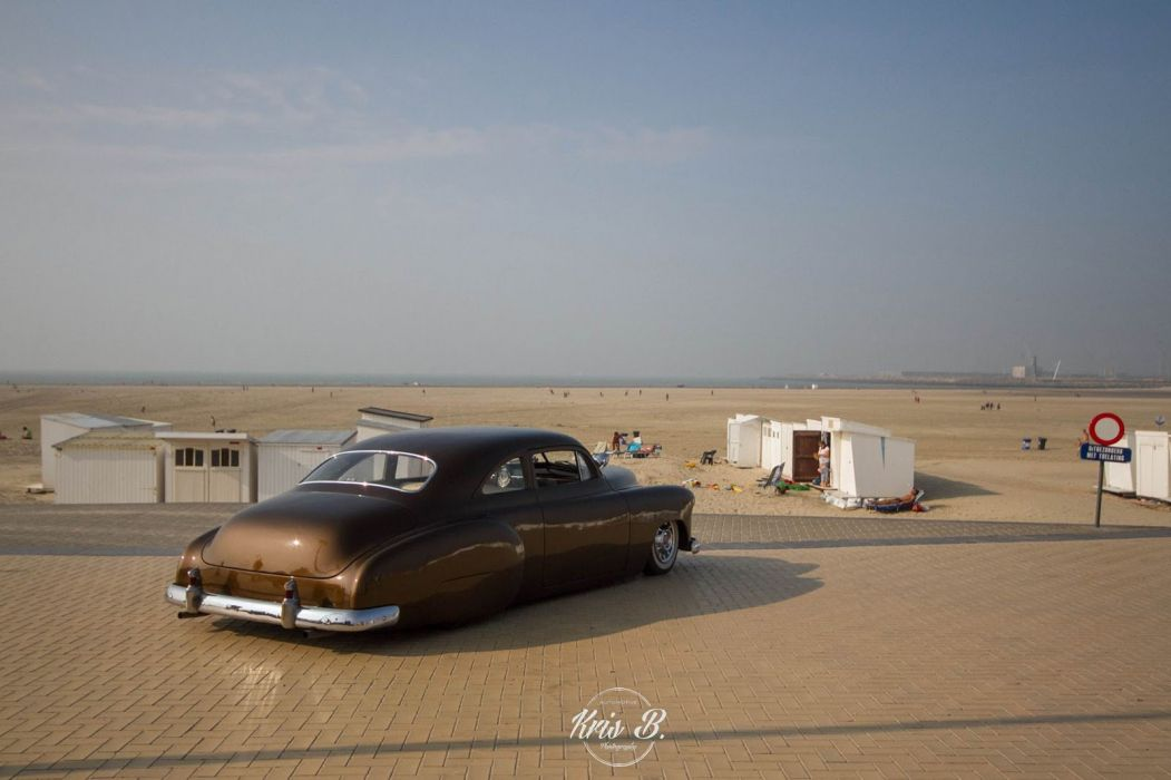1949 Chevy DeLuxe custom lowrider hot rod rods retro wallpaper