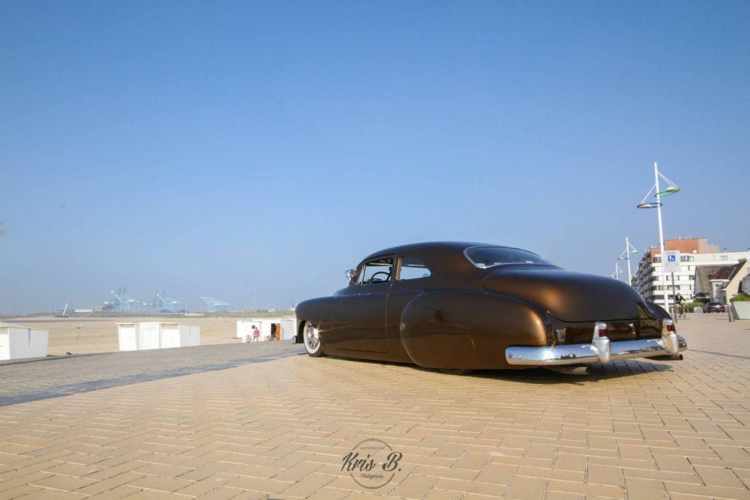 1949 Chevy DeLuxe custom lowrider hot rod rods retro wallpaper
