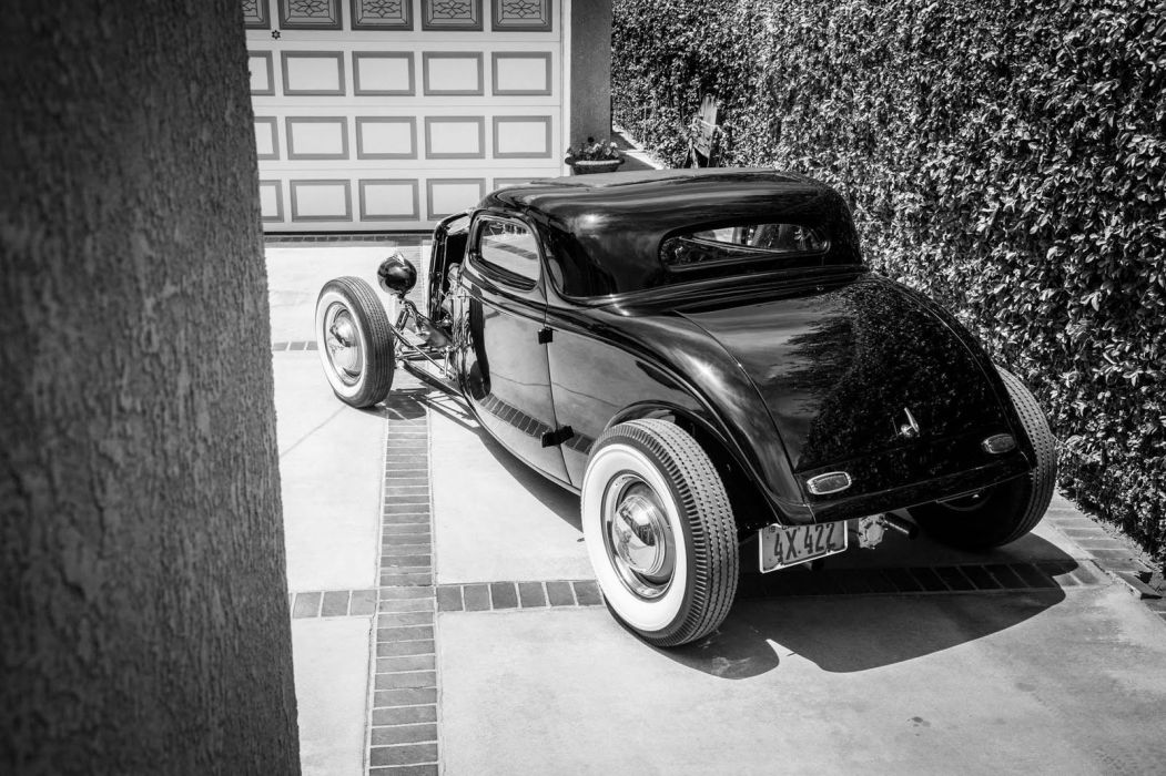 1934 Ford Coupe custom hot rod rods vintage wallpaper