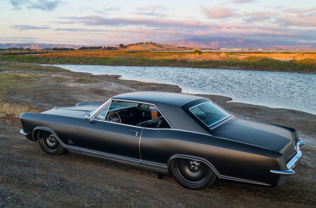 1965 Buick Riviera lowrider custom luxury classic wallpaper